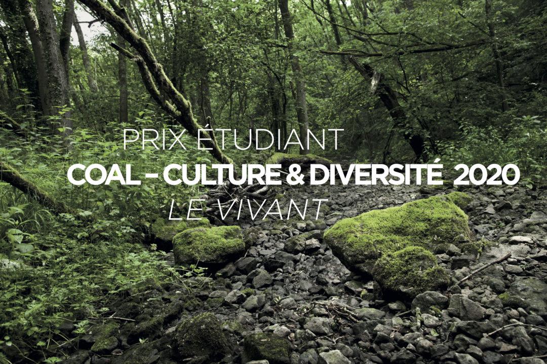 PRIX ÉTUDIANT COAL – CULTURE & DIVERSITÉ 2020 – ANNONCES DES LAURÉATS